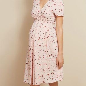 Isabella Oliver Lullah Floral Pink Maternity Dress